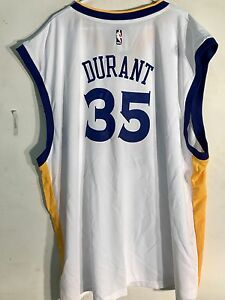 Adidas NBA Jersey Golden State Warriors Kevin Durant White sz 4X