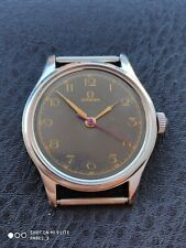 Year 1943,  Omega Militar gents watch 2383-5 with 30 T2 SC PC movement. Working