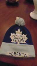 Toronto Maple Leafs CCM Hat Cap Tuque Mens Size New NWT