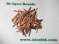 MICRO-SCALEXTRIC Car spares,Copper Braids/Brushes, (pack of 25) www.alcoltd.com