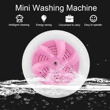 Portable USB Ultrasonic Washing Machine Travel Laundry Washer Cleaner Cleaning