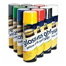 All Purpose Spray Paint Aerosol Can Multi Colour Indoor Outdoor Wood Metal 500ml
