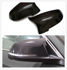 For BMW F10 F11 F01 F02 Mirror Cover Replacement Side Wing Caps Carbon Fiber New
