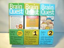 Brain Quest Bundle.1000 Questions 1000 Answers To Challenge The Mind