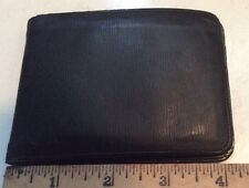 Dunhill Real Calf Made In England Alfred Dunhill London Black Wallet Billfold