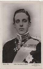POSTCARD  ROYALTY  King of Spain