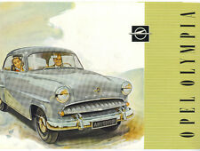 Opel  Folder  Olympia    Circa 1955
