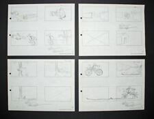 Signed Friz Freleng Pink Panther Storyboard Set 9, 1967