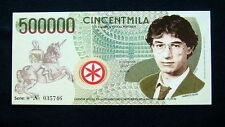 1996 Italy LEGA NORD separatist movement  Banknote 500000 Cincentmila UNC