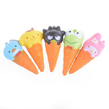 Squishy Animals Ice Cream Slow Rising Original package Pinch Toy Xmas Gift JB