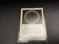 MTG MAGIC THE GATHERING Beta Circle Of Protection Black LP/NM