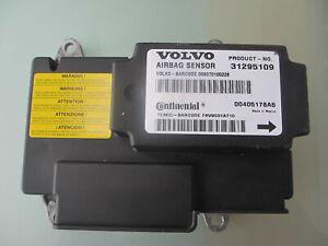 Genuine Volvo C30 S40 V40 AIRBAG ECU MODULE SENSOR 2009 Continental 31295109