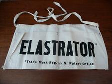 Vintage Elastrator Castrating Tool Pouch Bag California Stockmens Supply Nos