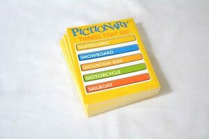 Pictionary Junior 2018 board game replacement part pieces - qty 40 cards