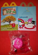 2017 McDonald's Happy Meal Toy Hello Kitty My Melody Plastic Tea Cup + FLAT BOX