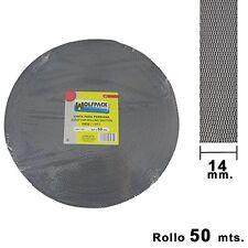 Wolfpack 5250005 - Roller Shutter Strap 14 mm, 50 Metre Roll, Grey