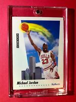 Michael Jordan SKYBOX SKYMASTER SOARING OVER CHICAGO 1992 HOT - Mint Condition!