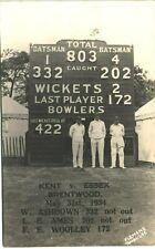 More details for cricket. kent v essex, brentwood. ashdown, ames & woolley by flemons, tonbridge.