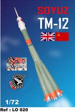 Mach 2 Models 1/72 SOYUZ TM-12 ROCKET BRITISH JUNO MISSION
