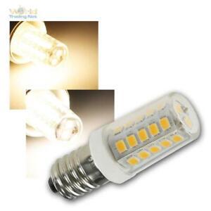 E14 LED Leuchtmittel 300lm 230V 4W, MINI Glüh-Birne für Kühlschrank-Lampe, Stern