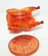 1:12 Scale Roast Chicken  Dollhouse Miniatures Food