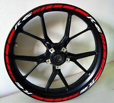 Adesivi per ruote moto Yamaha R6 colori personalizzati cerchioni wheels bike rim