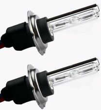 H7 COPPIA 2 LAMPADE XENO XENON BULBI RICAMBIO 8000k 55w G4D4