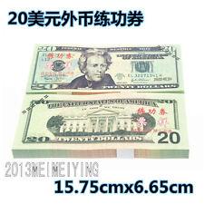 $2000 USD Dollars High-Quality Novelty Notes Fake Bills Paper Money Scene Prop