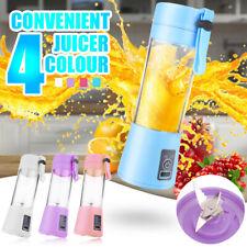 New listing Usb Rechargeable Portable Mini Juicer Electric Juicer Bottle Fruit Blender Mixer