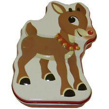 Boston America - Rudolph Candy Tin - REINDEER NOSES (Cinnamon Candy) - New
