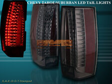 07-14 CHEVY SUBURBAN TAHOE / 07-14 YUKON SMOKE TAIL LIGHTS G5 ESCALADE STYLE