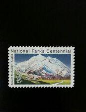 1972 15c Mount McKinley - Alaska, National Park Scott 1454 Mint F/VF NH
