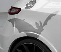 Aufkleber süße Fledermaus Spass Sticker Kult Auto Decal Klebefolie Gothic JDM