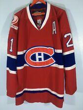 Vtg CCM Gionto Montreal Canadiens NHL Ice Hockey Player Shirt Team Jersey 52