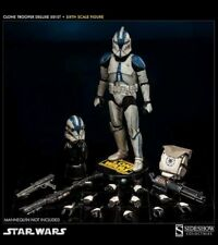 STAR WARS SIDESHOW HOT TOYS 1/6 CLONE TROOPER DELUXE 501st Vader's Fist NEW!