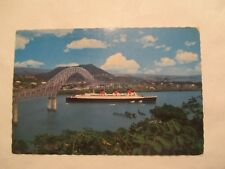 Queen Mary Ship Continental Sized Postcard