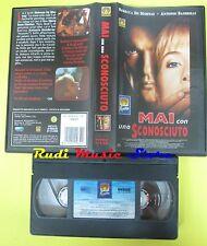 film VHS MAI CON UNO SCONOSCIUTO 1995 MEDUSA 1046502 101 minuti (F76) no dvd