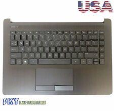 NEW HP 14-CK 14-CM 14-DG Palmrest w/ Keyboard Touchpad L23491-001 L23241-001