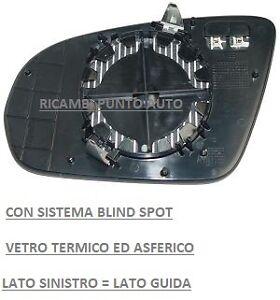 VETRO PIASTRA SPECCHIO TERM B/SPOT SINISTRO 001051 MERCEDES CLASSE C W205 2014