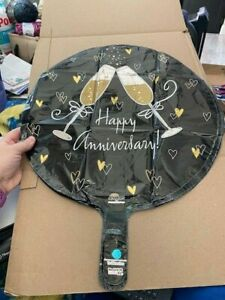 """Happy Anniversary Balloon 18"""" by Anagram New!!!"""