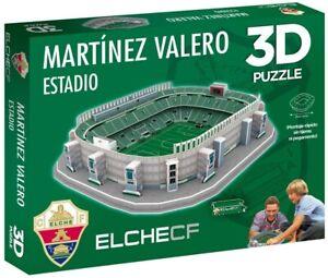 Elche C.F. Martinez Valero Estadio Stadium 3D Jigsaw Puzzle (efp)