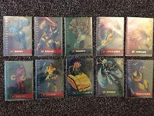 1995 Fleer Ultra X-Men Suspended Animation  Card full Sub Set
