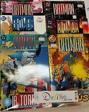 LE LEGGENDE DI BATMAN: N. 7-8-9-12-13-14 - Ed. PLAY PRESS - SCONTO 20%