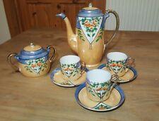 Klimax Hand Painted Vintage Japanese Tea Set Mini Small Cups
