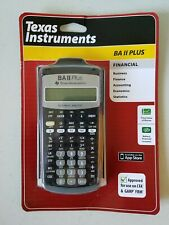 Texas Instruments Finacial Calculator BA II PLUS CFA/GARP/FRM - FAST SHIPPING!