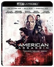 American Assassin 4K UHD 4K (used) Blu-ray Only Disc Please Read
