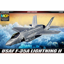 1/72 F-35A LIGHTNING Ⅱ Academy Hobby Model Kits Military Plastic Model #12507