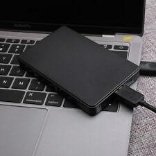 "2.5""External 2TB Portable Hard Disk USB3.0 SATA 3.0 Mobile Hard Disk Drive Black"