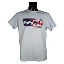 Billabong - T-Shirt uomo - INVERSE TEE  - 9036 - Colore Sky Blue - Taglia XL
