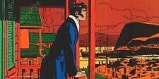 Affiche Pratt Hugo Corto Maltese Hong Kong 50x100 cm
